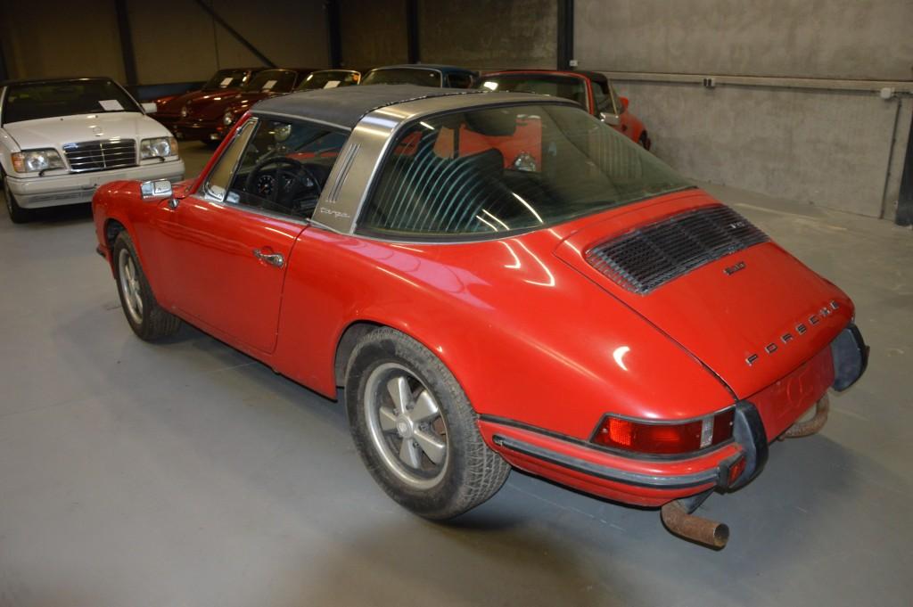 Porsche 911 T Targa Ol Klappe Matchingnumbers Euromodel
