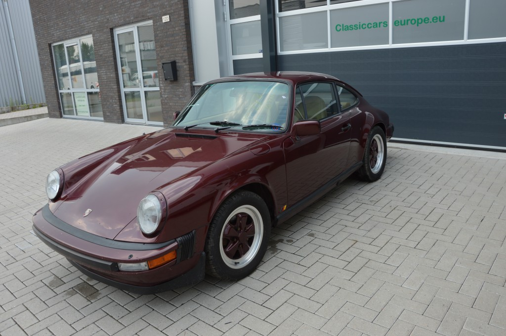 Porsche 911 3.0 SC  coupe matchingnumbers