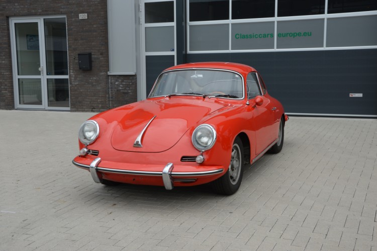 Porsche 356 SC Coupe Matchingnumbers