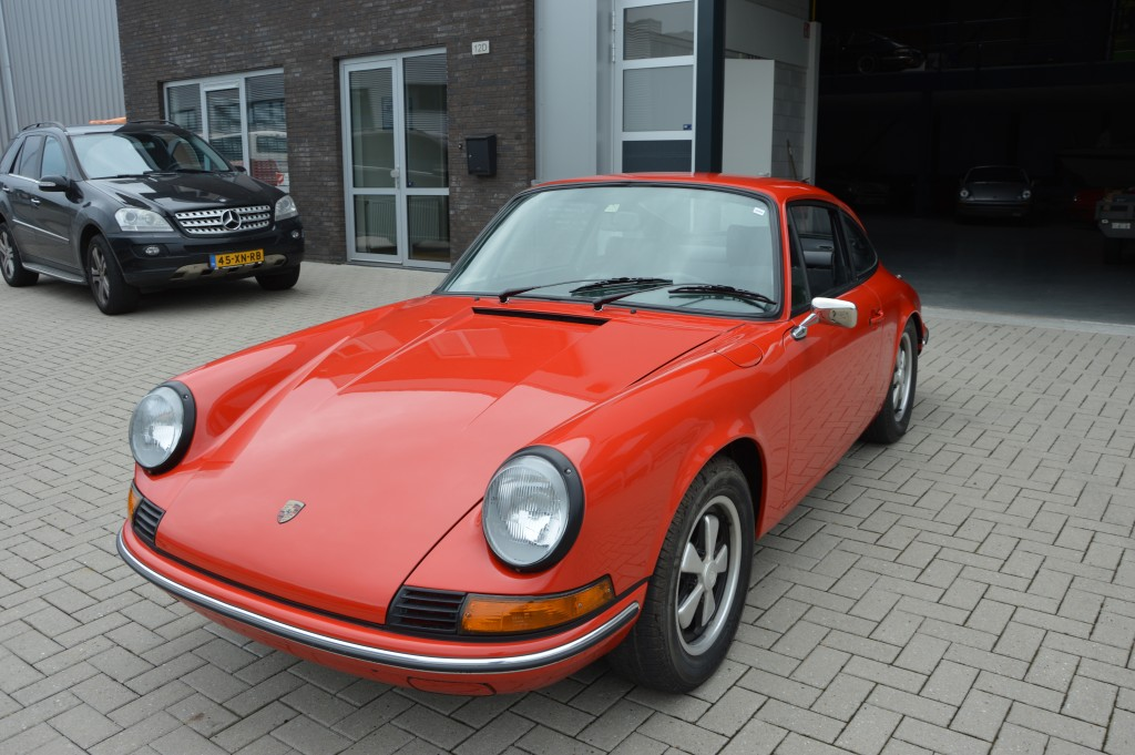 Porsche 911 T Coupe Oilklappe Matchingnumbers 1972