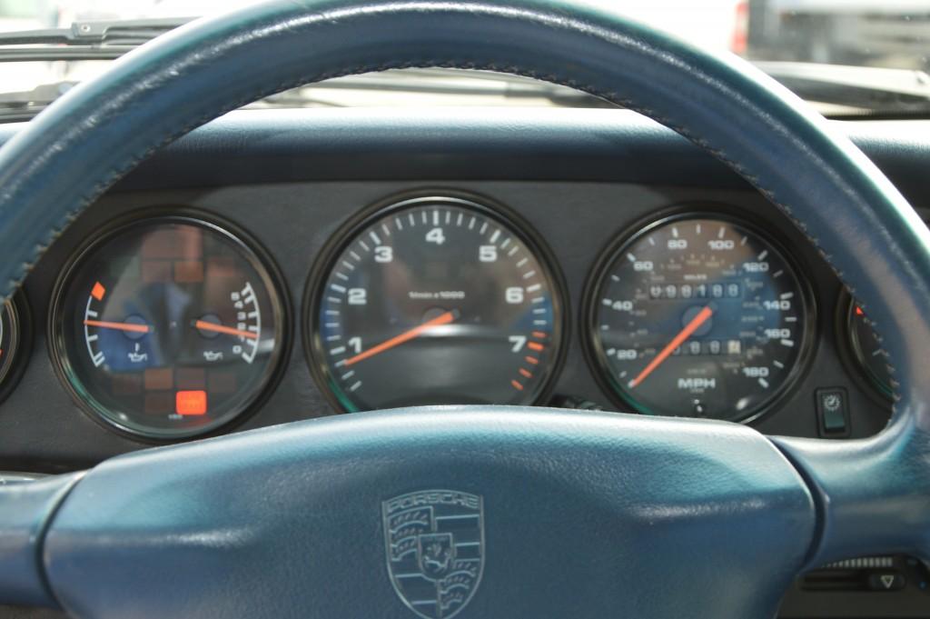 Porsche 993 Carrera Cabrio Matchingnumbers
