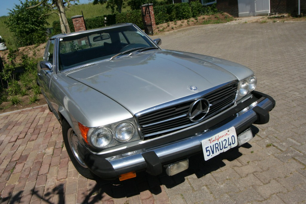 MB 450 SL 1975 Hard- Softop