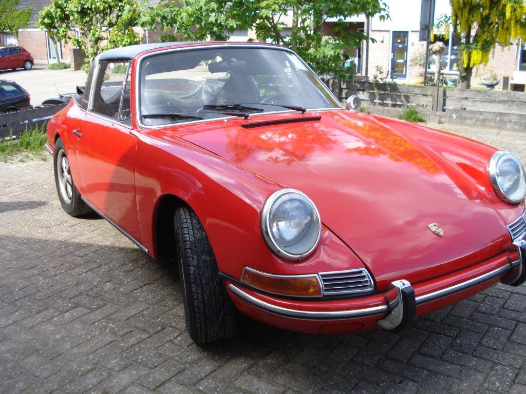 Porsche 912 softwindow targa