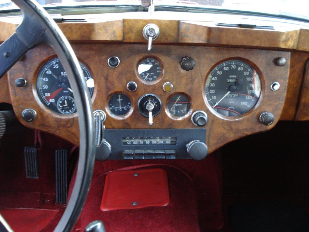 Jaguar XK 140 SE FHC matchingnumbers overdrive