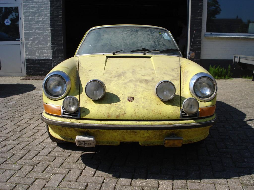 Porsche 911 E Targa Öl klappe Matchingnumbers