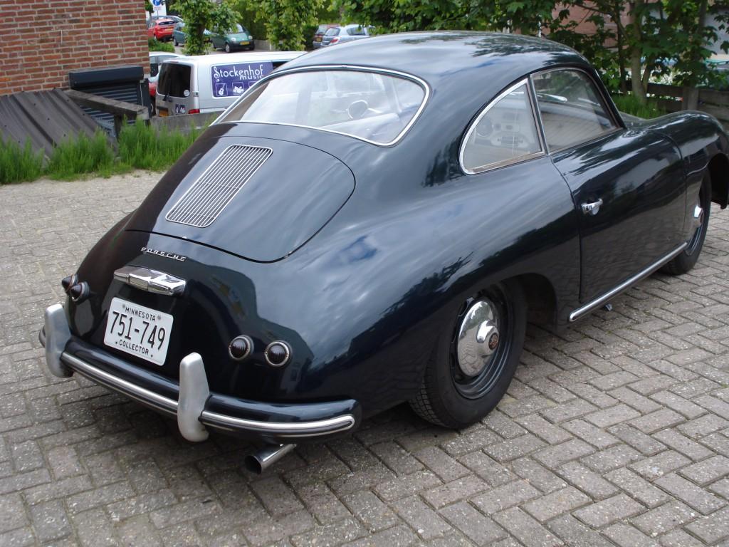 Porsche 356a coupe  1956