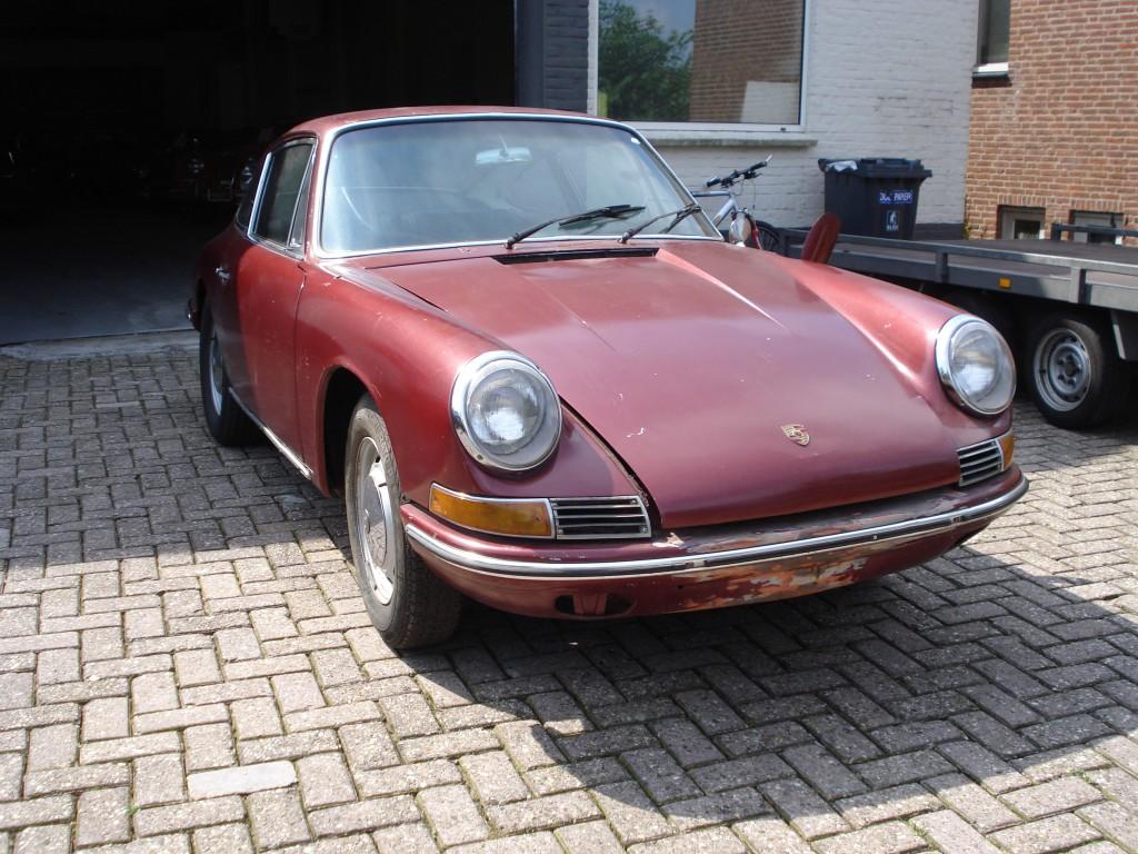 Porsche 912 coupe SWB 3 Gauge