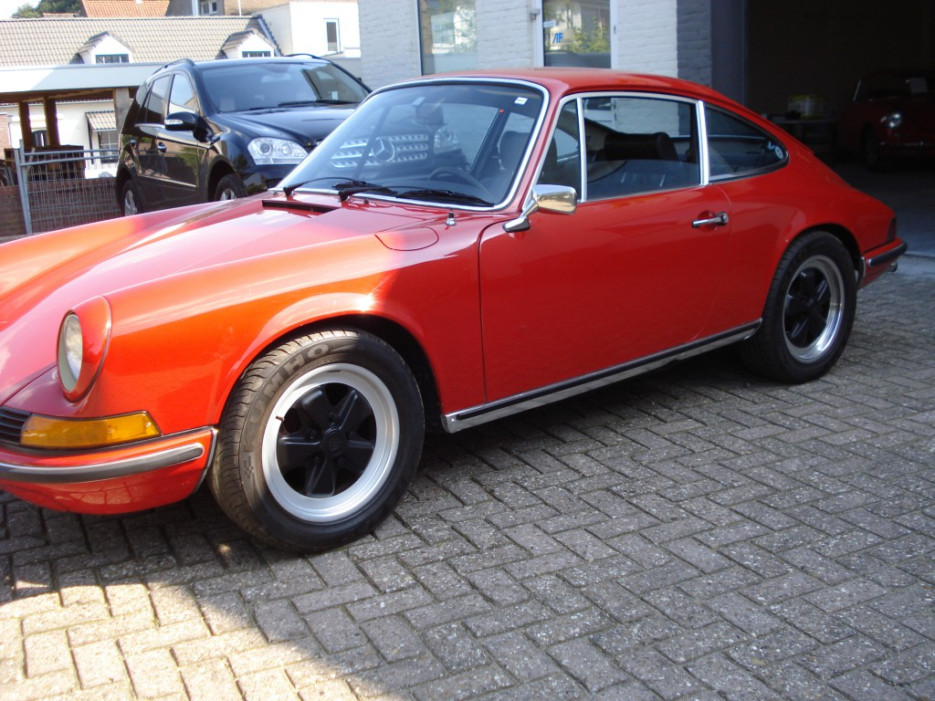 Porsche 911 T 2.4 Ol klappe coupe Matchingnumbers