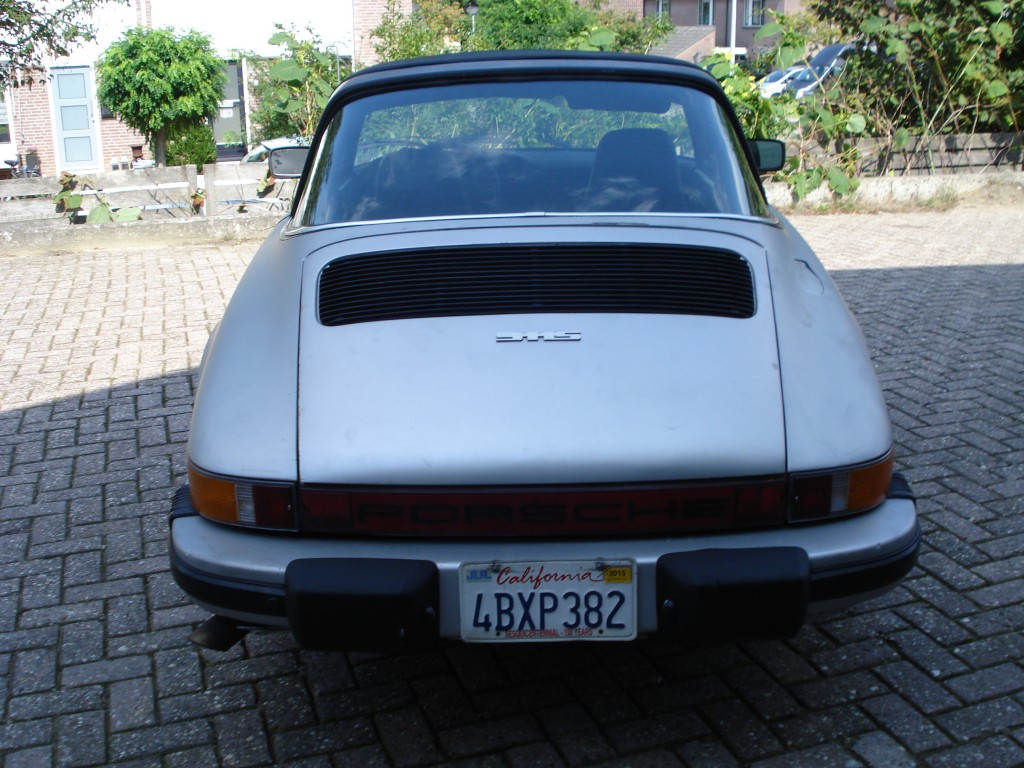 Porsche 911S  Targa 2.7  Matchingnumbers