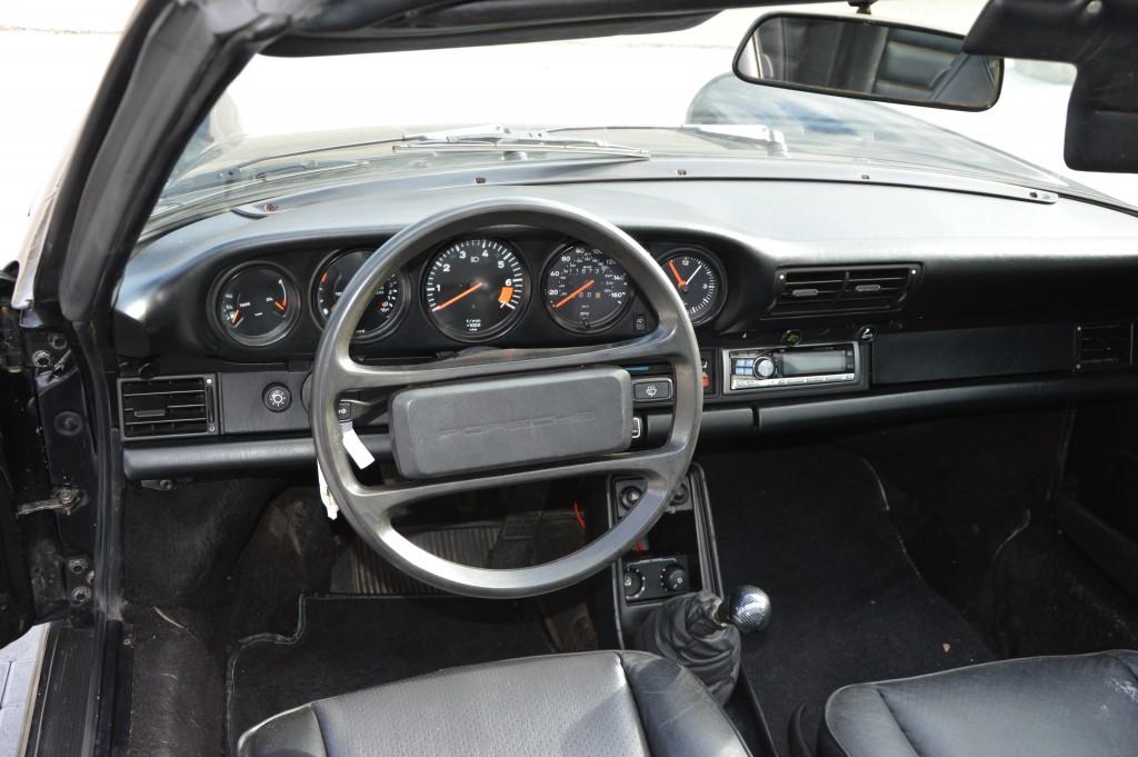 Porsche 911 Carrera  3.2 Targa Matchingnumbers