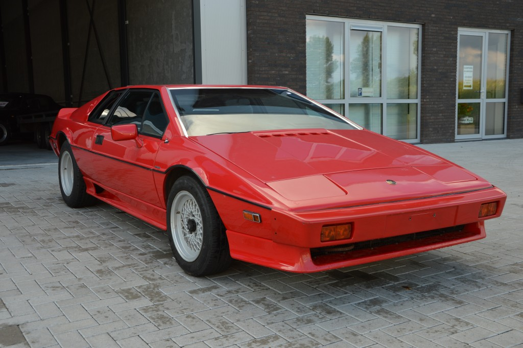Lotus Esprit Turbo Matchingnumbers