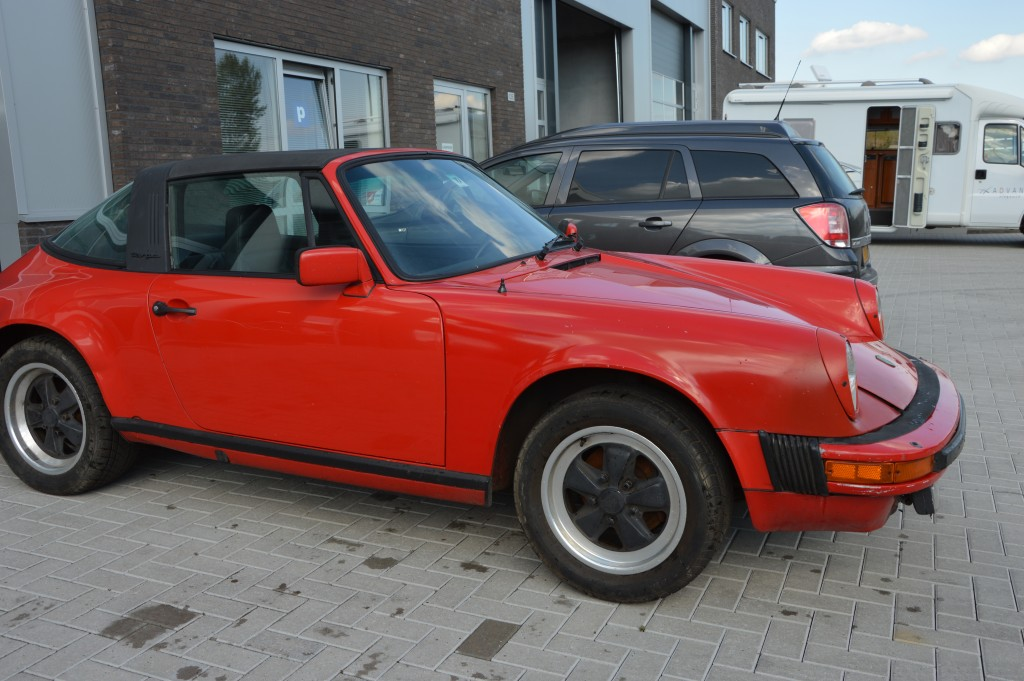 Porsche 911 3.0SC Targa matchingnumbers