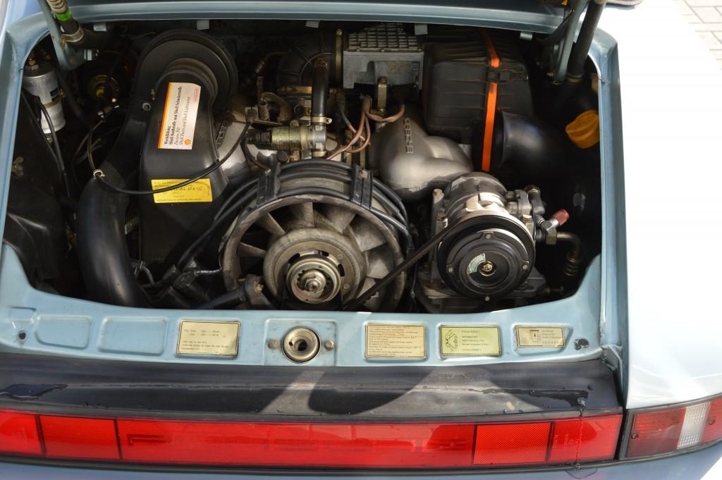Porsche 911 Carrera 3.2 Cabrio G50 Matchingnumbers